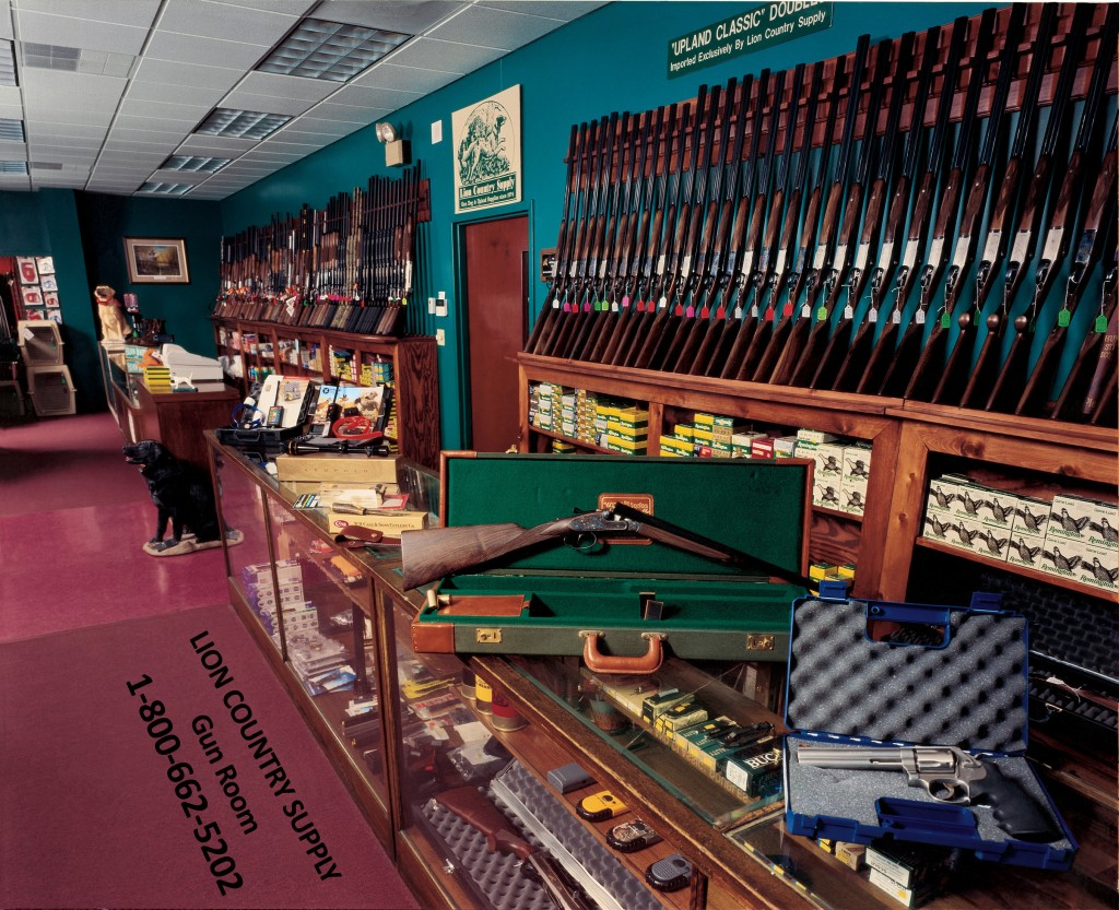 Lion Country Supply Gun Room DoubleShotguns